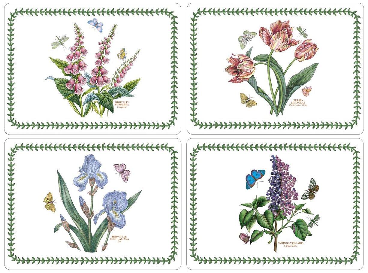 Amazon.com: Portmeirion Botanic Garden Placemats, Set of 4: Home ...