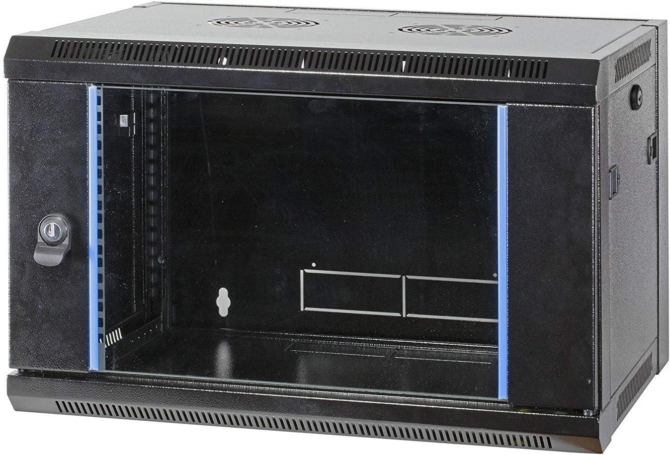 Tiefe 450 mm EFB-Elektronik 19 Wandgeh/äuse Flat Pack 9HE RAL9005