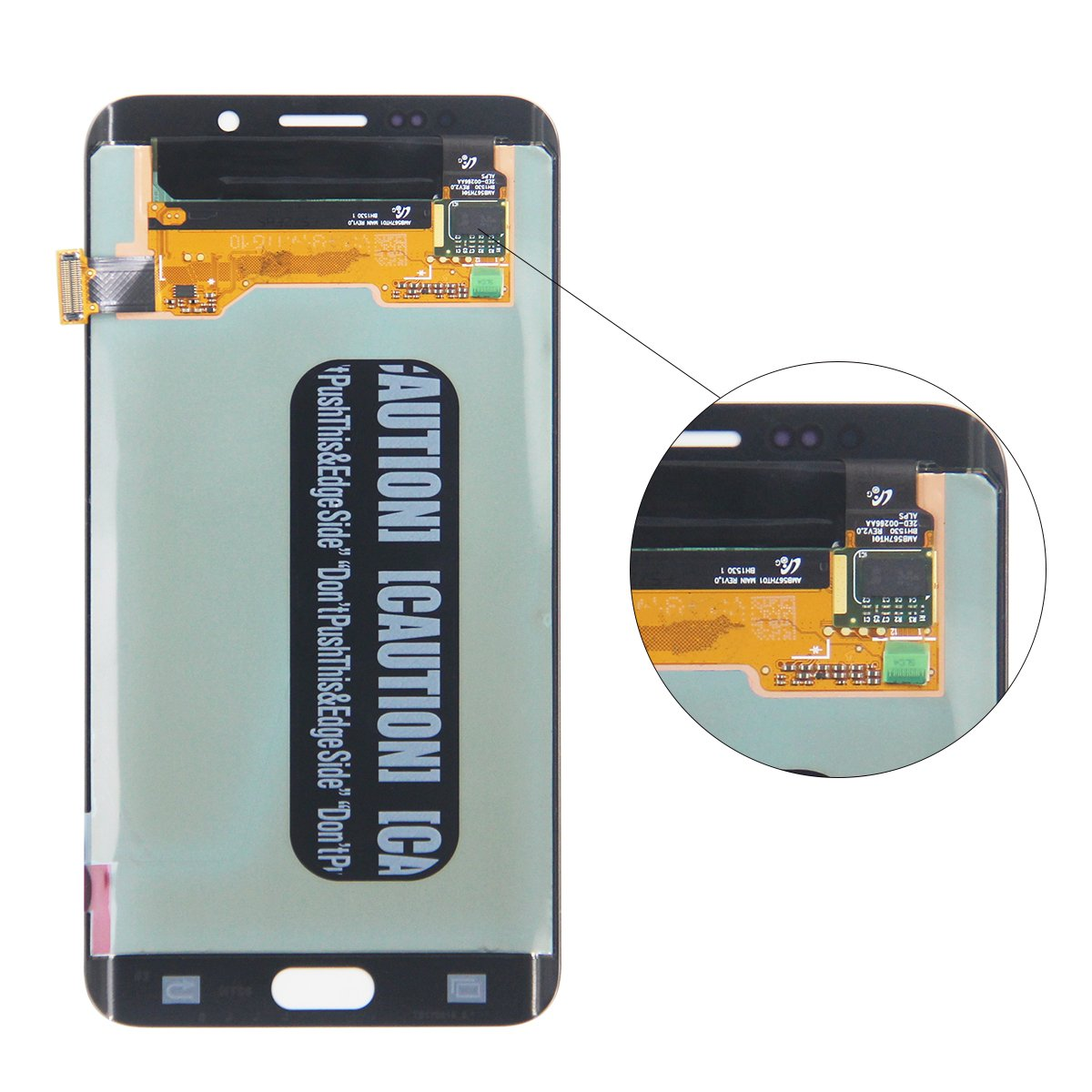 HJSDtech LCD Display Screen Touch Screen Digitizer Assembly Replacement for Samsung Galaxy S6 Edge Plus G928T G928P G928V G928C (Black) by HJSDtech (Image #3)