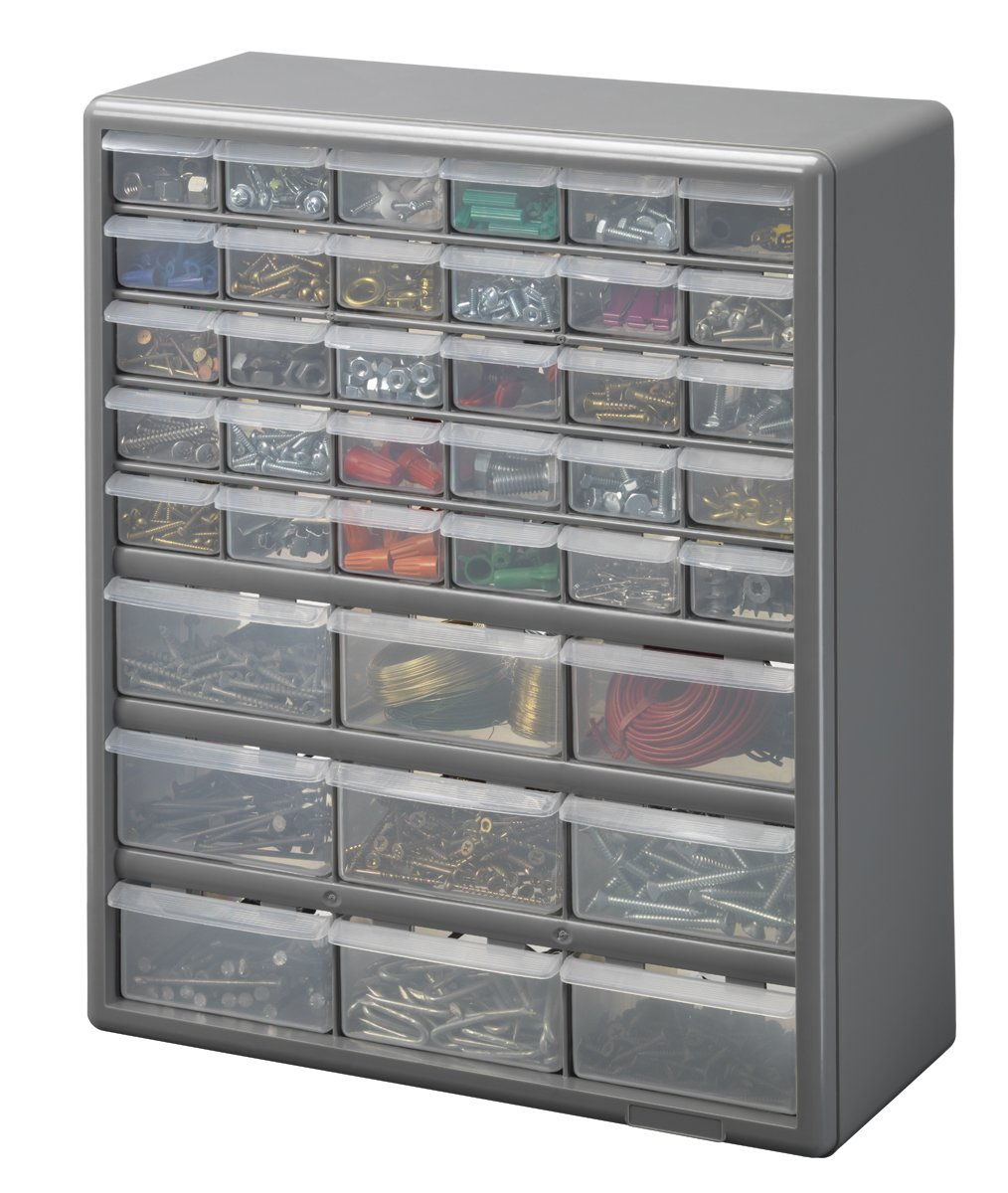 Amazon.com: Stack-On DS-39 39 Drawer Storage Cabinet: Home Improvement