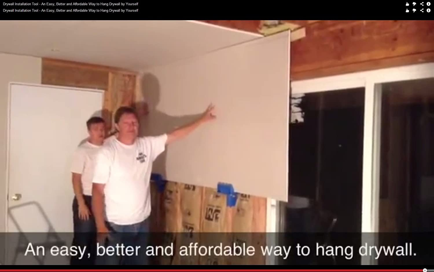 How to hang drywall on walls - How To Hang Drywall On Walls 10