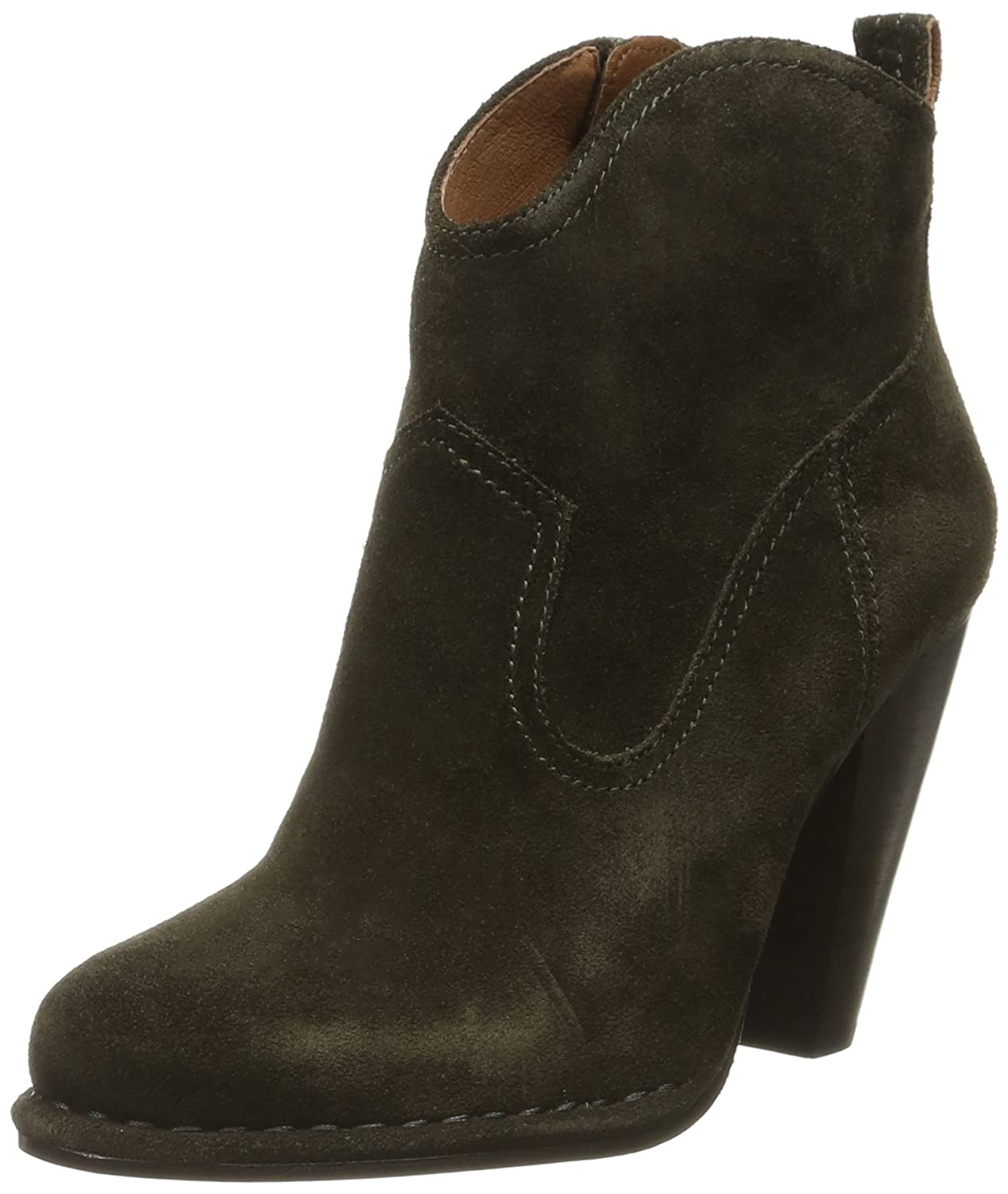 FRYE Women's Madeline Short Suede Boot B01A2SJ974 9.5 B(M) US|Fatigue