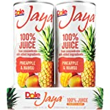 Dole Jaya Juice, Pineapple/Mango, 4 Count (Pack of 6)