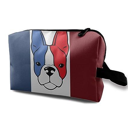Bulldog francés Bandera Estuche multifuncional Bolsas de ...