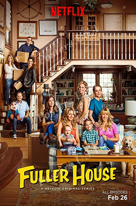 Image result for fuller house poster