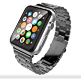 Apple Watch Band 42mm, Stainless Steel Metal iWatch Strap for Apple iWatch Sport & Edition 42mm - Space Gray