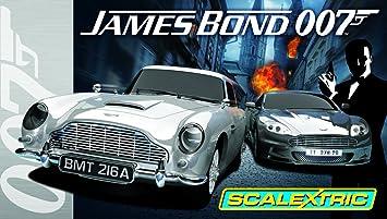 James Echelle Circuit Voitures Electriques Scalextric 2 Miniature Bond C1254 Aston Avec 132ème De Martin Véhicule OiXZTwPuk