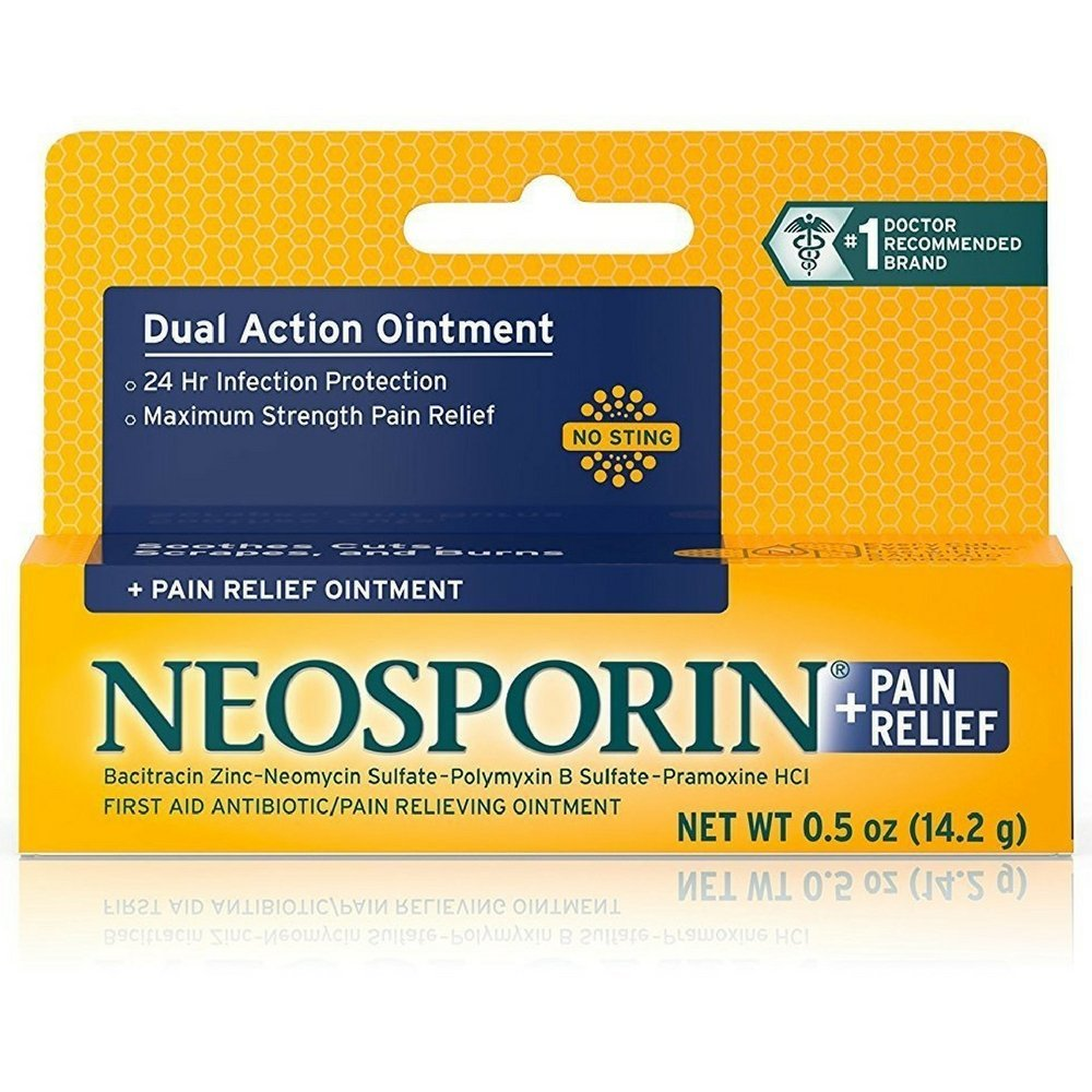 Neosporin Pain Relief Ointment,0.50 oz