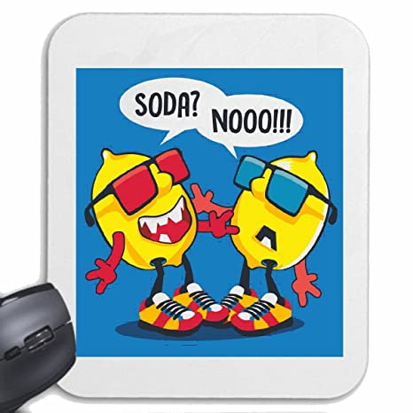 Mousepad alfombrilla de ratón Dos divertida LIMÓN con gafas ...