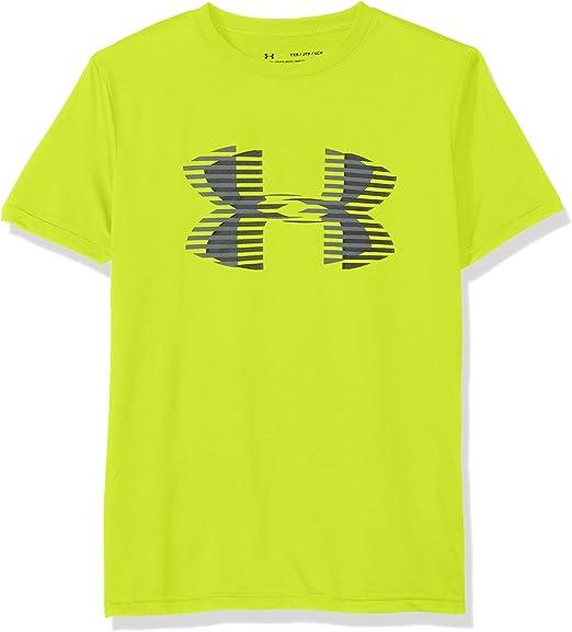 Under Armour Boys/' UA Tech Printed Big Logo Short Sleeve T-Shirt