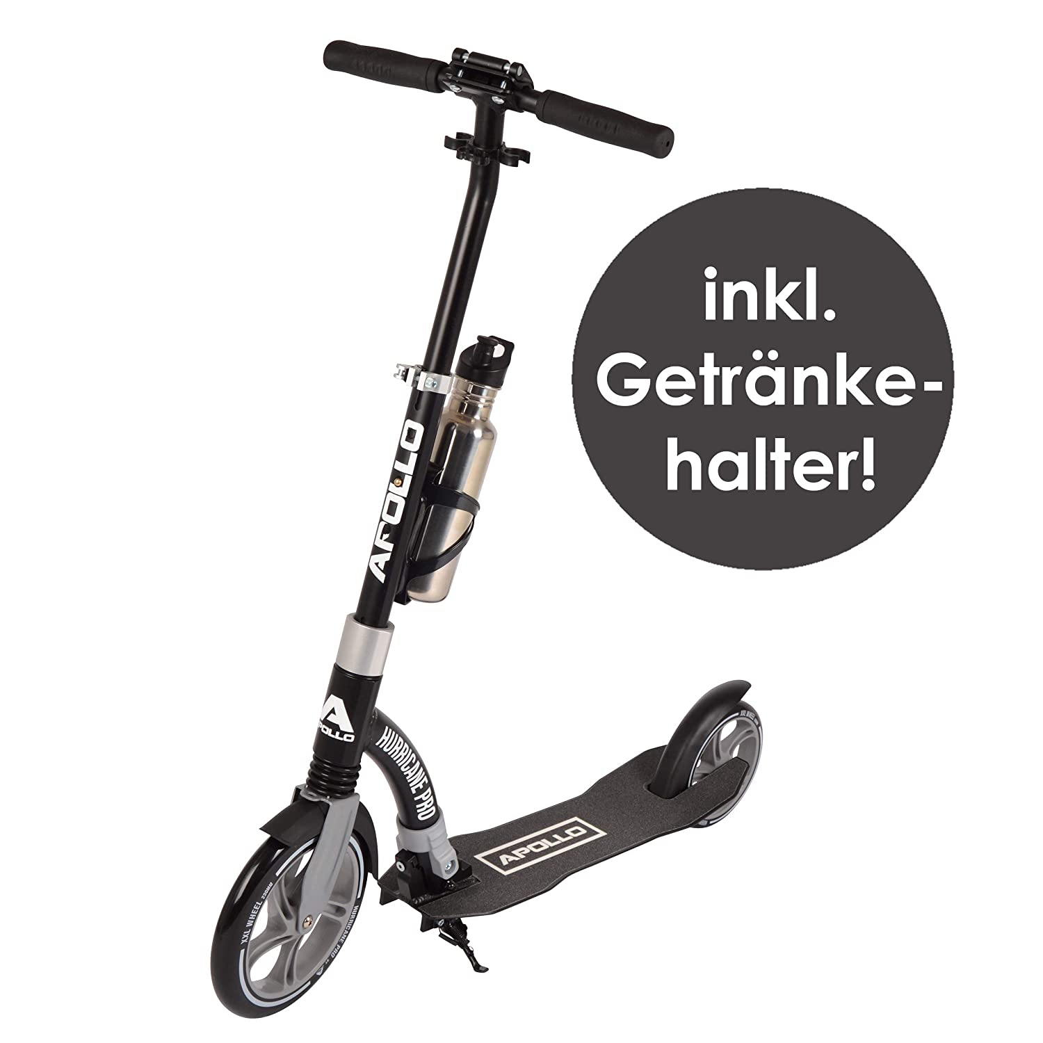 Apollo Scooter - Hurricane City Scooter, 230 mm Giant XXL ...