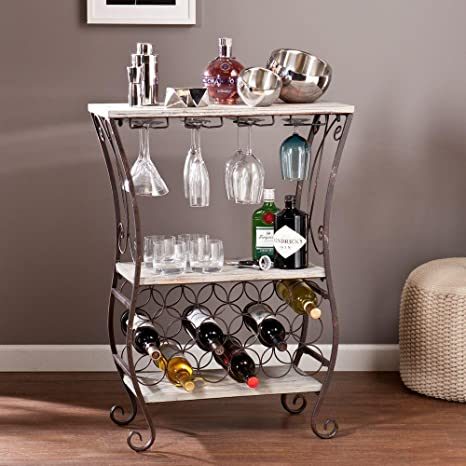 sofa table with wine storage. Cathy Wooden Top Wine Storage Sofa Table In Gray With 2 Fi0xed Shelves, 4  Stemware Sofa Table Wine Storage