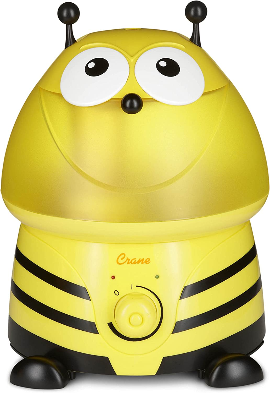 Crane Adorable Ultrasonic Cool Mist Humidifier Bumble Bee w Filter