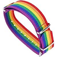 Holibanna LGBT Pride gevlochten regenboog geweven homoseksueel en lesbische armband ketting vriendschap armband