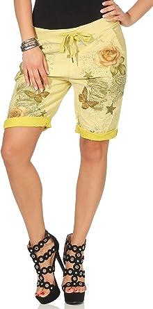 cleostyle Cortos Mujer Bermudas, Ligero Ligeros Pantalón para ...