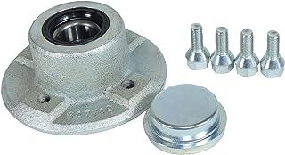 100mm PCD Tráiler el cubo de rueda de fundición con rodamientos sellados para la Ifor Williams P6 P7 AB Tools