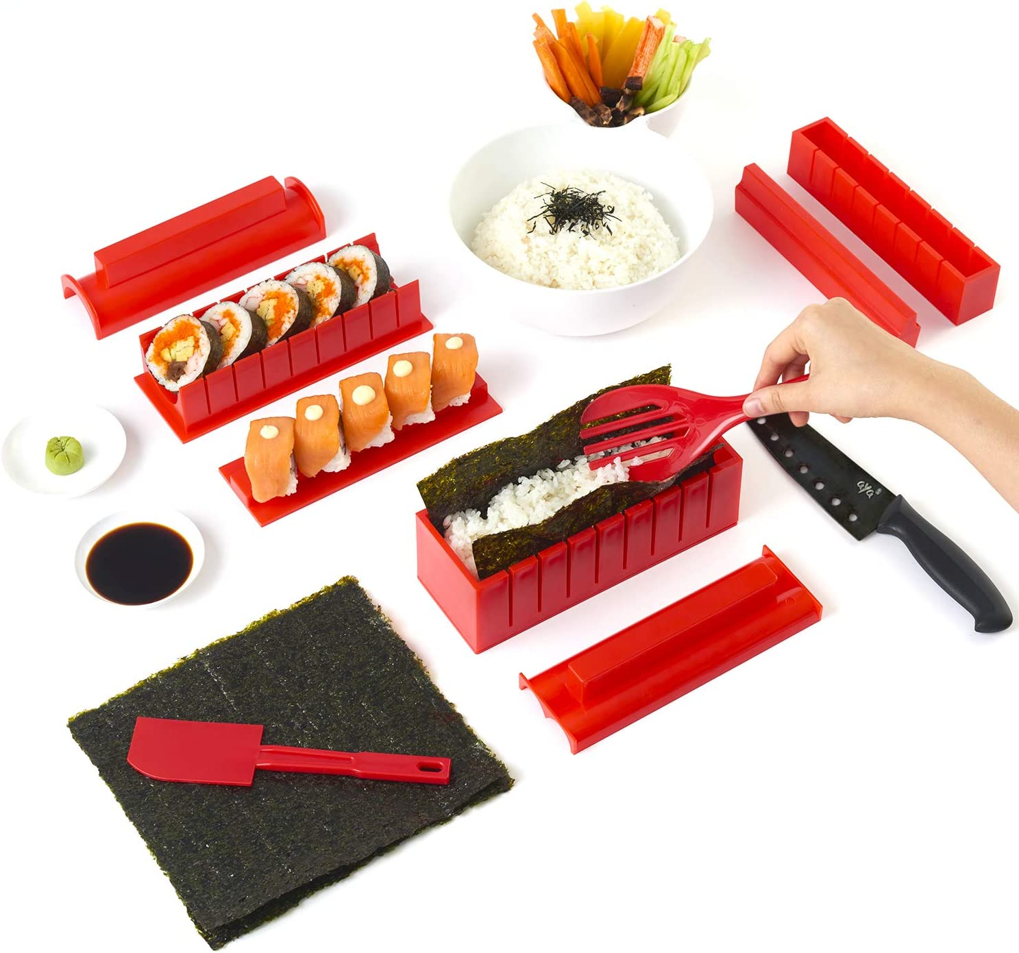Sushi Making Kit from Amazon  nut-free school lunch