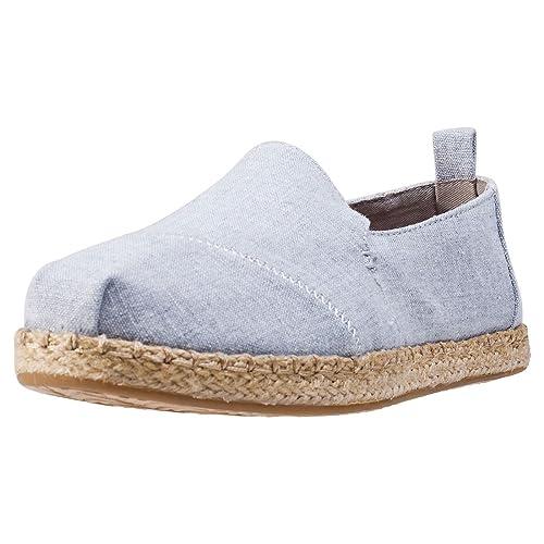 TOMS 10009838 - Mocasines para Mujer, Color Gris, Talla 42 EU: Amazon.es: Zapatos y complementos