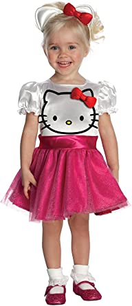 Hello Kitty Tutu Disfraz Disfraz para niña (Niño pequeño (1-2 años ...