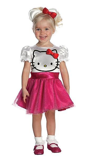 Amazon.com: hello kitty tutú disfraz para niña: Clothing