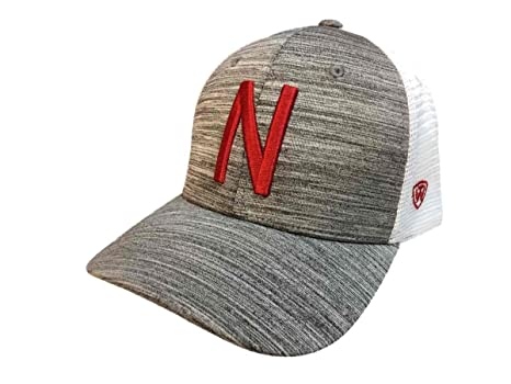 release date: 37893 89a44 Image Unavailable. Image not available for. Color  Top of the World  Nebraska Cornhuskers Tow Gray w White Mesh Warmup Structured Snapback Hat  Cap