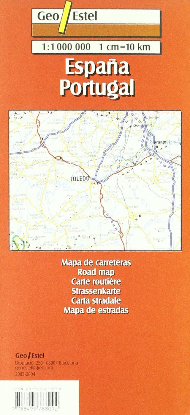 España- Portugal Mapas de carreteras. Comunidades autónomas y ...