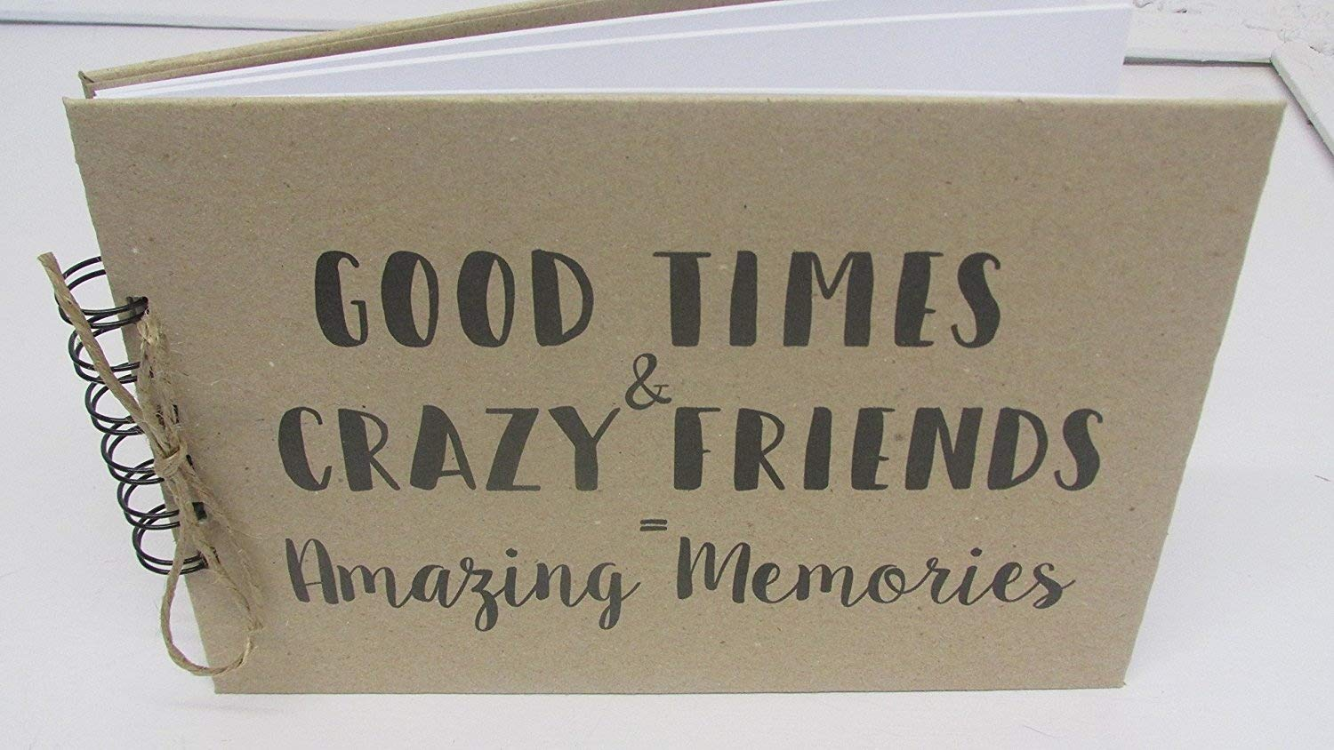 A5 Friends Memory Book Scrapbook Album Gift Keepsake Present birthday Baby Scrapbook Album Any Occasion