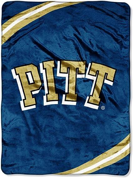Amazon Com Ncaa Force Raschel Throw Ncaa Team University Of Pittsburgh Throw Blankets Sports Outdoors