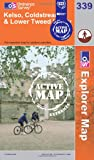 Kelso, Coldstream and Lower Tweed Valley (OS Explorer Map Active)