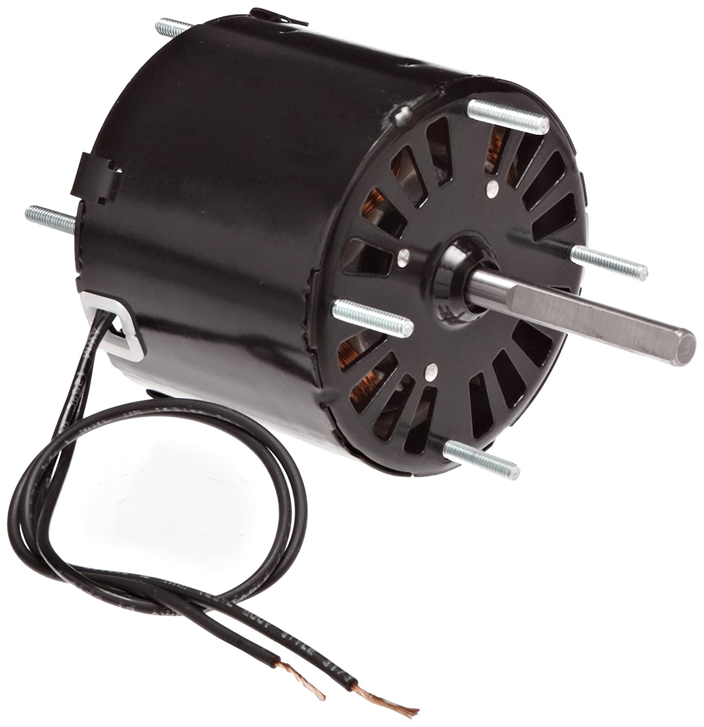 Fasco D188 3.3-Inch Frame Open Ventilated Shaded Pole General Purpose Motor with  Sleeve Bearing, 1/20HP, 1500RPM, 230V, 60Hz, 0.9 Amps, CW Rotation