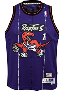 ed8c8c927eb Outerstuff Tracy McGrady Toronto Raptors NBA Youth Throwback 1998-99 Swingman  Jersey