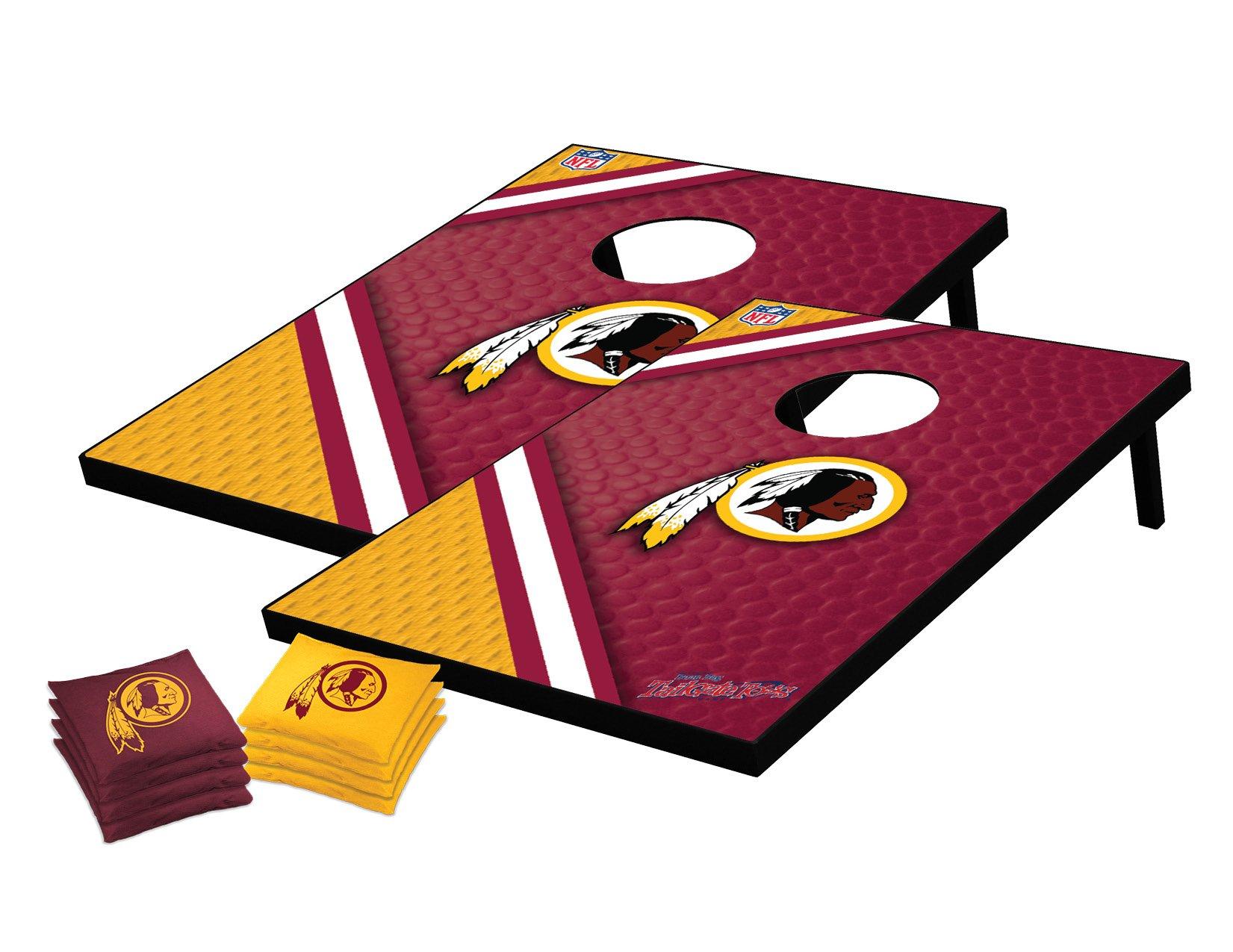Wild Sports NFL Washington Redskins Tailgate Toss Bean Bag Game Set, Medium