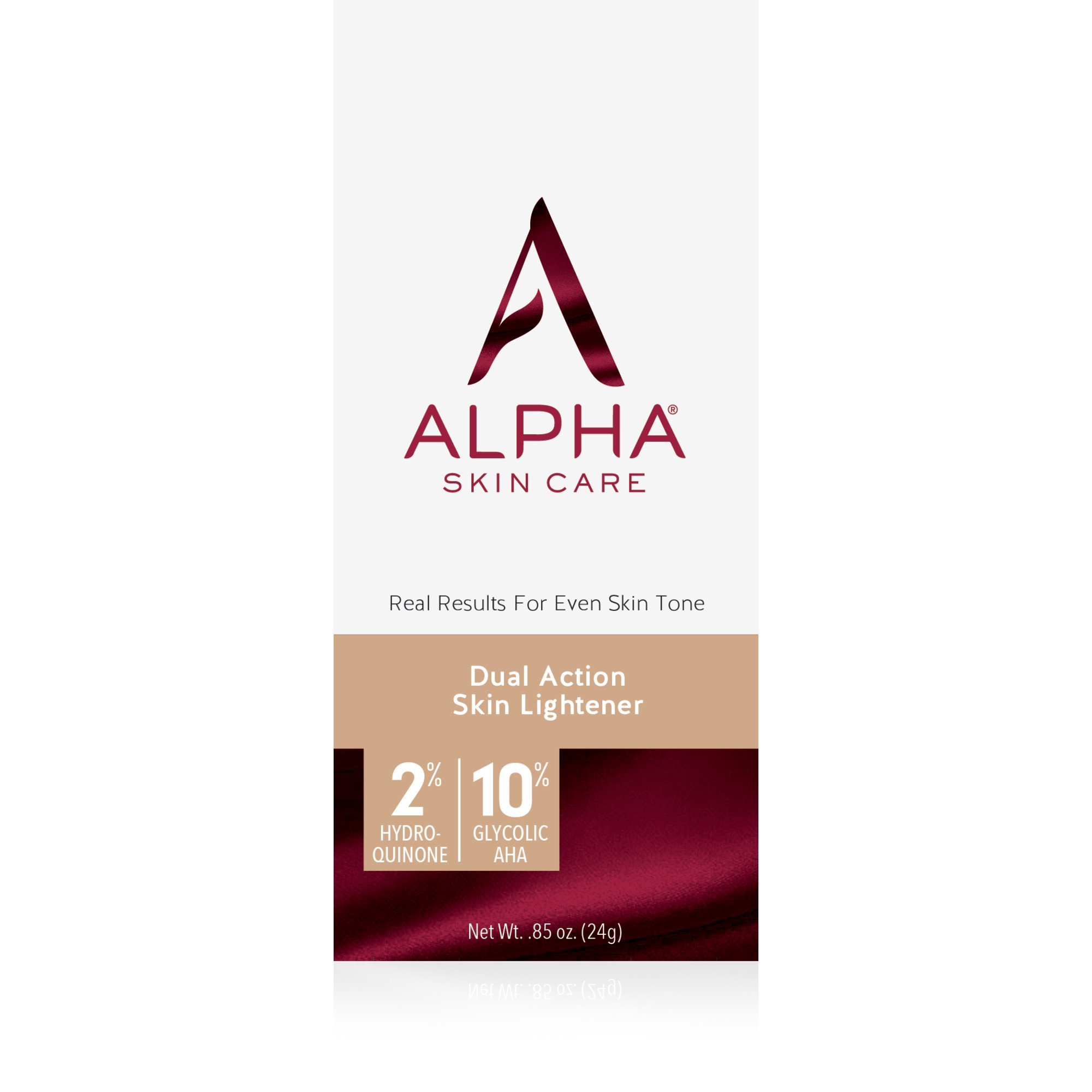 Alpha Skin Care - Dual Action Skin Lightener, 2% Hydroquinone, 10% Gycolic AHA, Real Results for Even Skin Tone| Paraben-Free| 0.85-Ounce by Alpha Skin Care (Image #9)