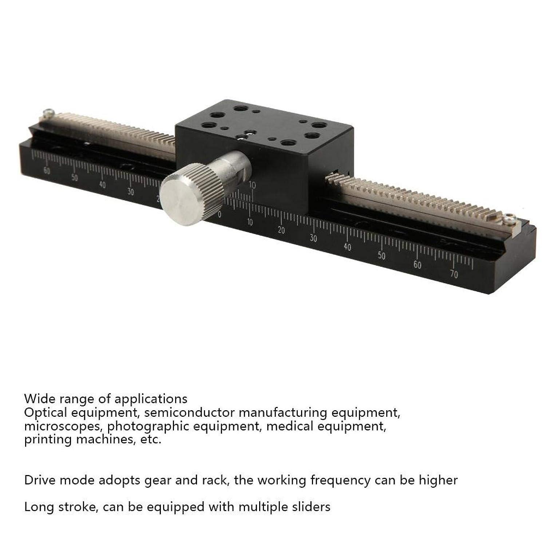 /± 65MM Long Stroke Sliding Stage for Measuring Instruments Optical Instruments Lightweight Durable Dovetail Platform