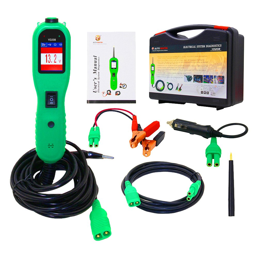 jctools YD208 Car Electrical System Diagnostic Circuit Tester Auto Repair Tool Power Probe better than PS100 by jctools (Image #1)