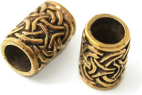 Beard Bead RAM Head RAM Bronze Hair Decoration Viking Viking Beard Jewelry 1415