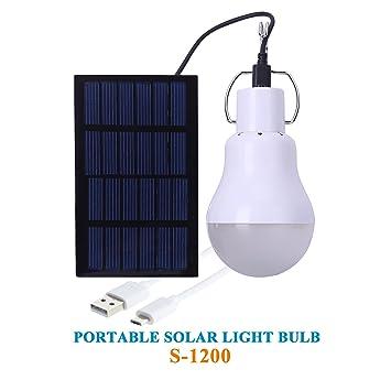 lampe solaire fait maison