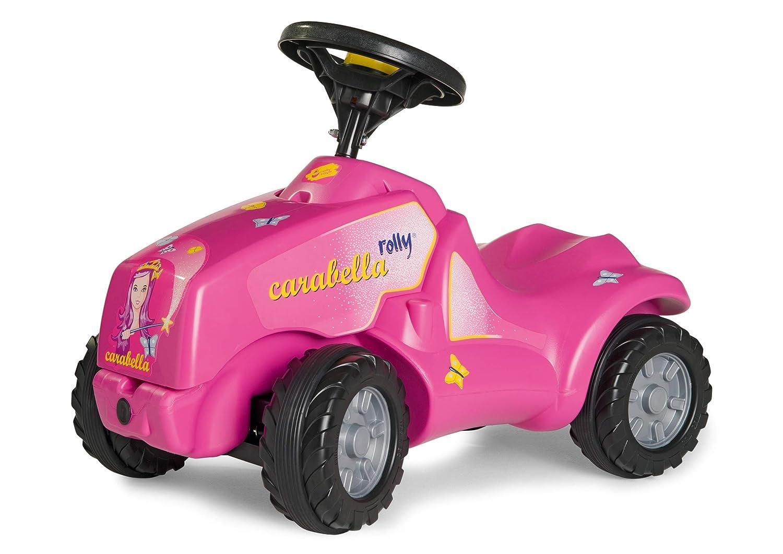 Rutschtraktor Mädchen - Rutscher Traktor Rosa - Aufsitztraktor - Kinder Traktor Babyrutscher