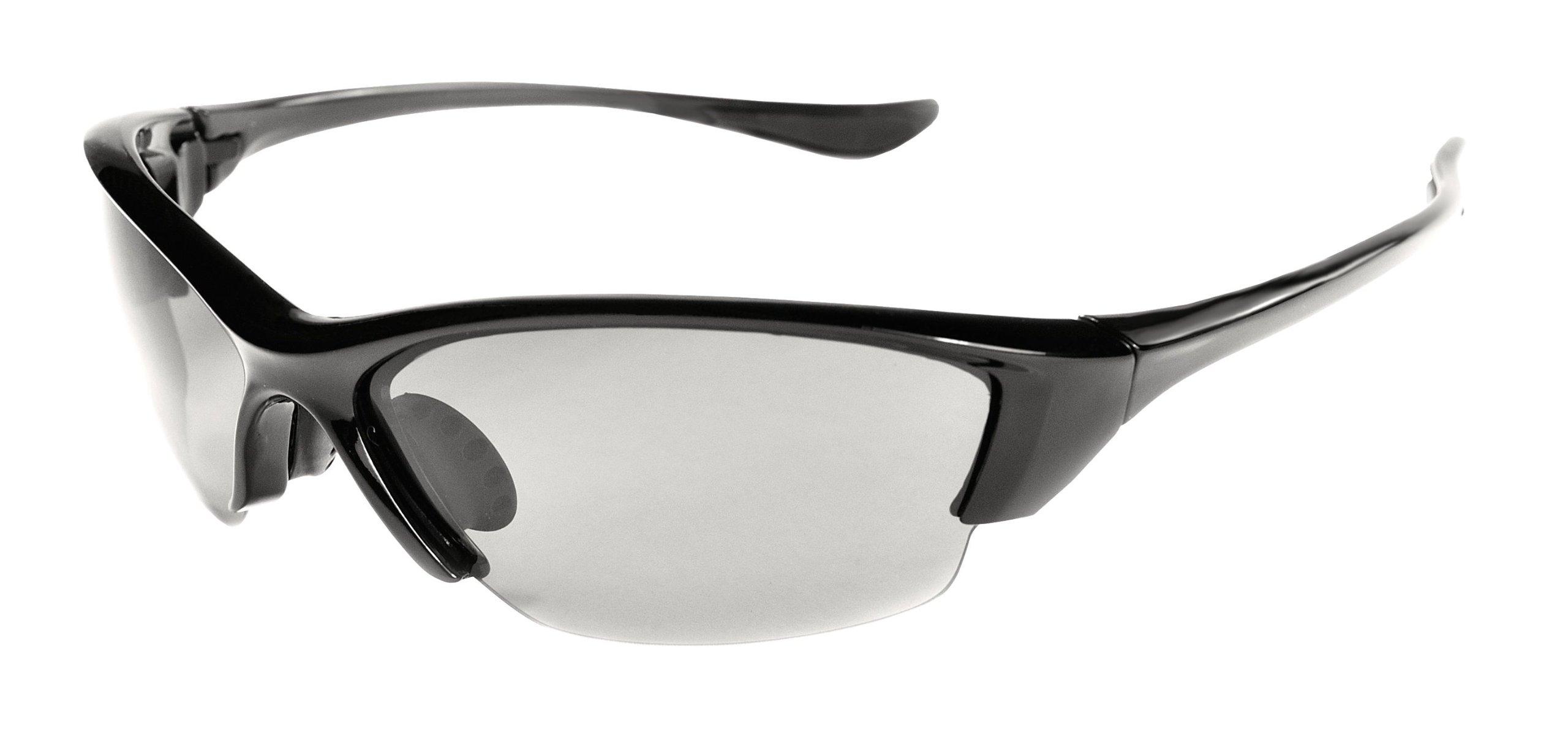 Polarized Sunglasses with TR90 Unbreakable Frame TRPL27 (Black & Smoke)
