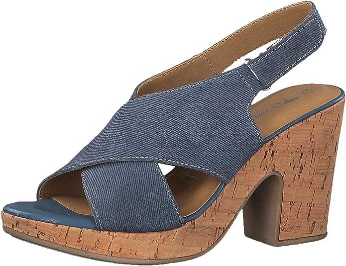 TAMARIS DAMEN 1 28332 Sommer Damenschuhe Schuhe Plateau