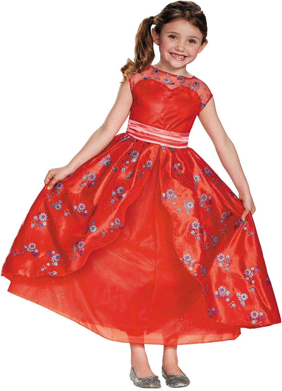GEORGE DISNEY PRINCESS ELENA OF AVALOR GIRLS KIDS FANCY DRESS OUTFIT COSTUME