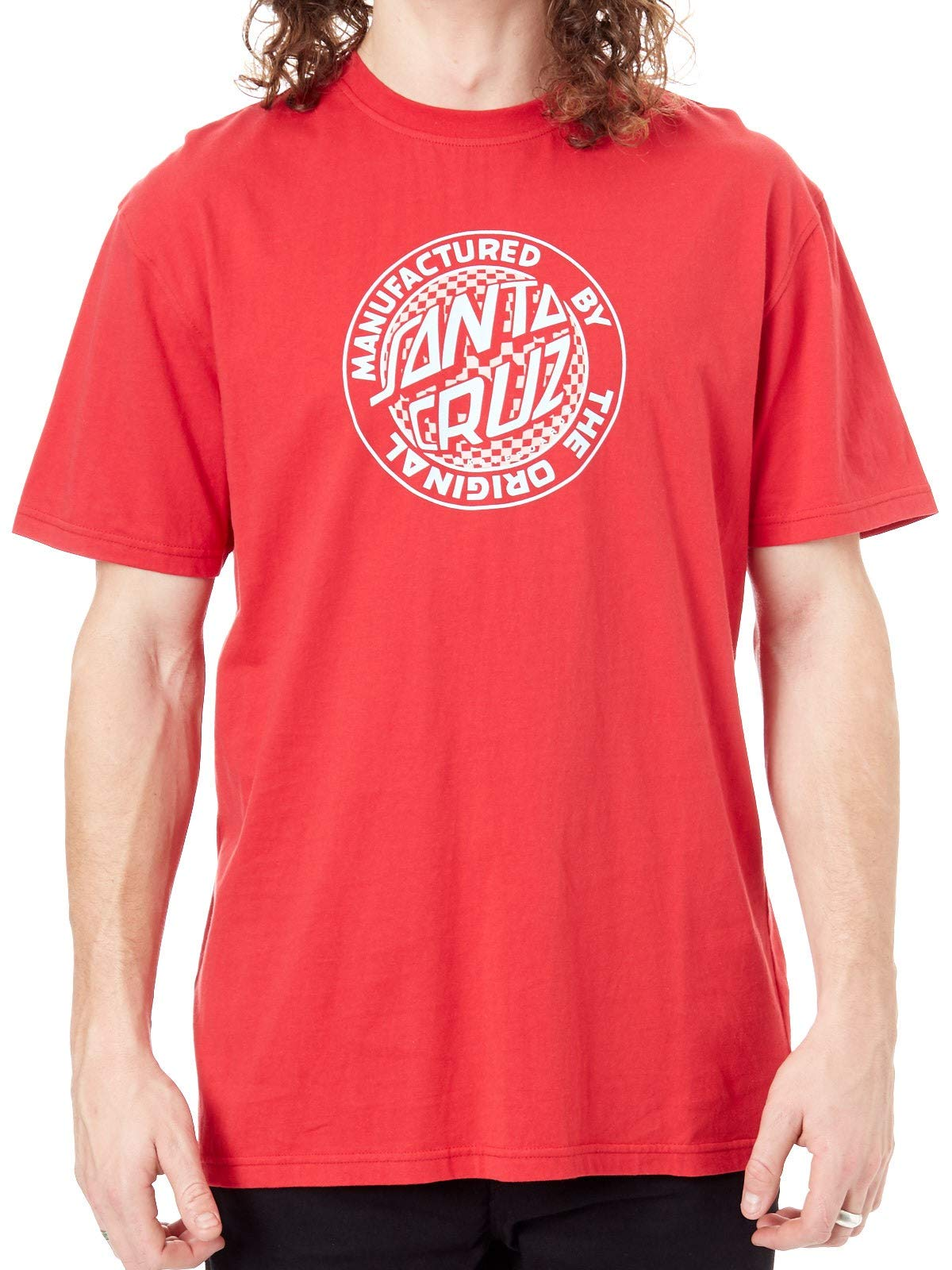 Santa Cruz Deep Red Fisheye Mfg Shirts