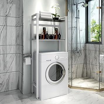 QFFL Tablett Kreative Badezimmer-Zahnstangen / Landungs-Toiletten ...
