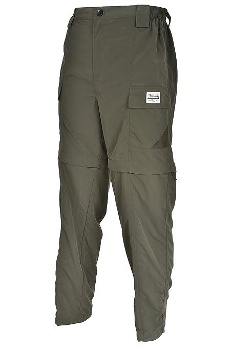 a9b740ca48e Amazon.com : Bimini Bay Outfitters Men's Grand Cayman Zip-Off Nylon Pants :  Clothing