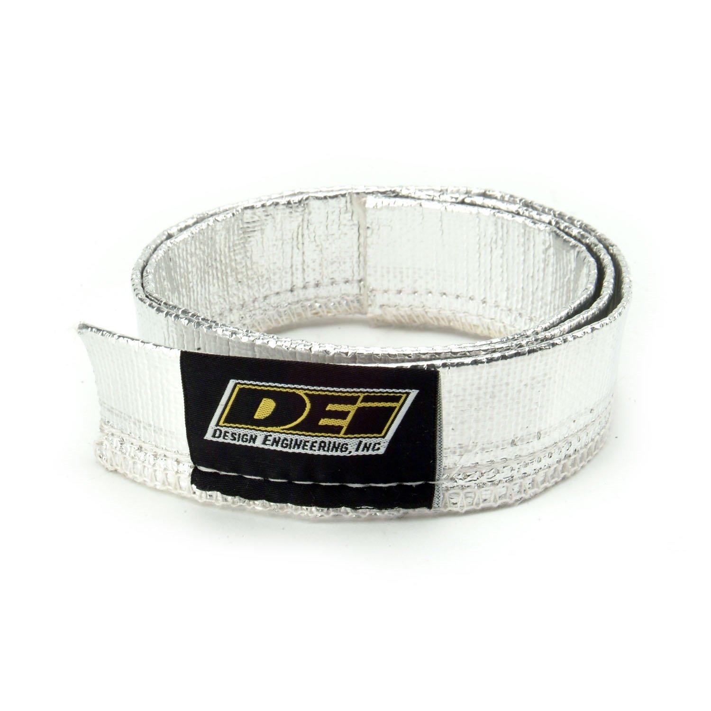 DEI 010403 Heat Sheath - Aluminized Sleeving for Ultimate Heat Protection, 0.75'' x 3'