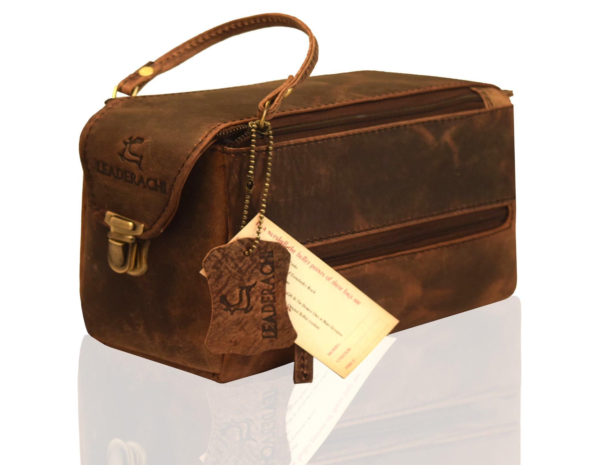 7e76899998 Leaderachi Men s Muskat Hunter Leather Messenger Bag - Brescia - Buy ...