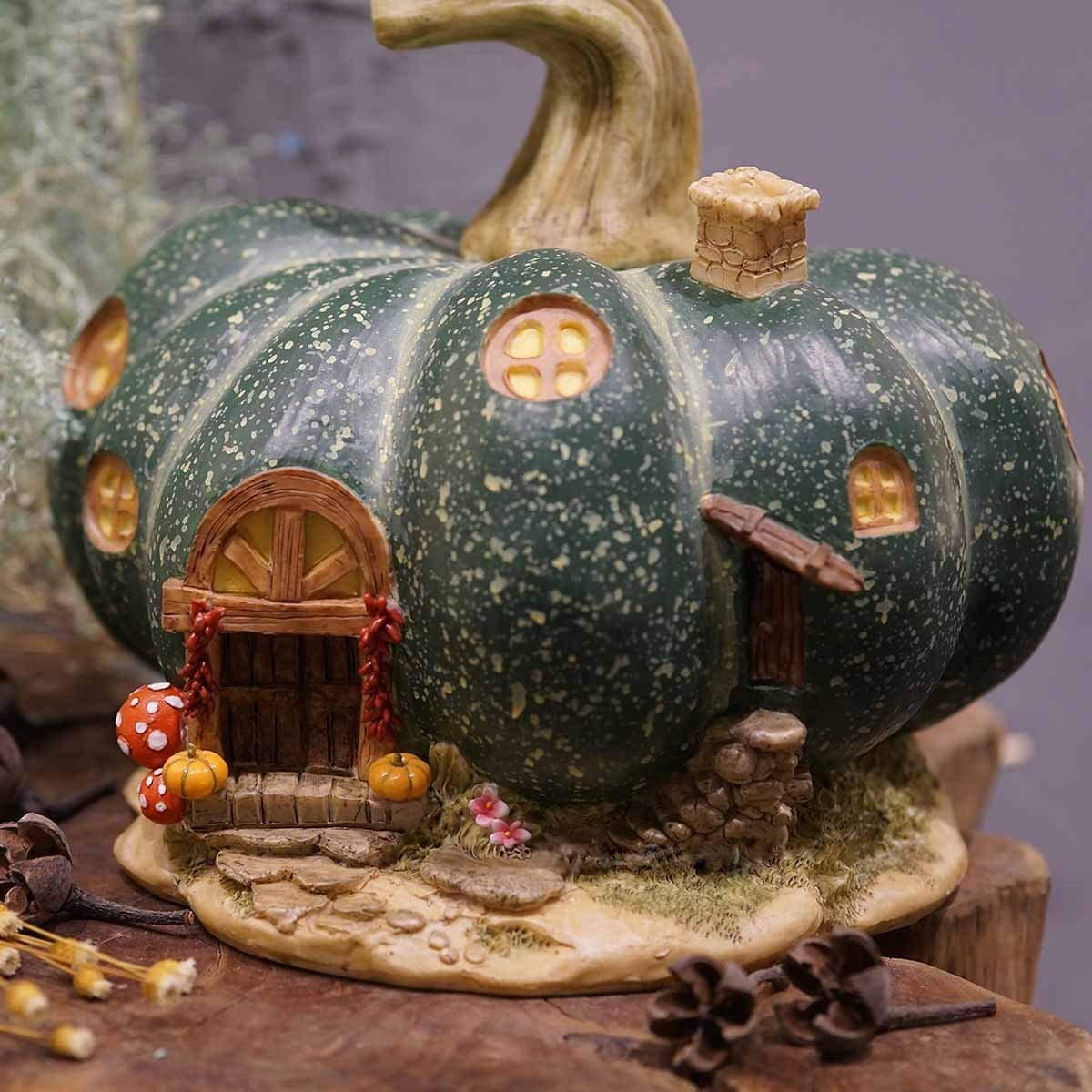 "Buy 3 Save $5 Miniature Fairy Garden 9.5/"" Enchanted Tree House w// Face"