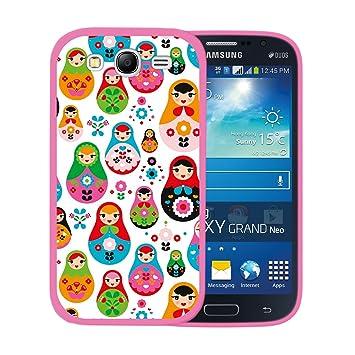 WoowCase Funda para Samsung Galaxy Grand Neo Plus, [Samsung Galaxy Grand Neo Plus ] Silicona Gel Flexible Muñeca Rusa Matrioska, Carcasa Case TPU ...