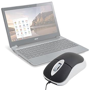 DURAGADGET - Mini ordenador portátil USB ratón para Acer Chromebook Serie C7 y Acer Chromebook C720: Amazon.es: Electrónica