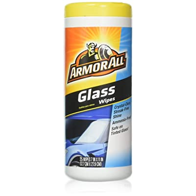 Armor All Glass Wipes (25 ct.) - 2 Pack: Beauty